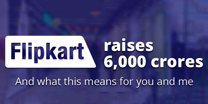flipkart raises one billion dollars
