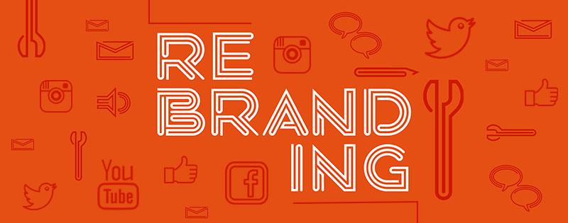 rebranding social media