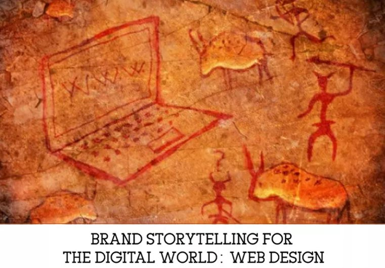 Brand Storytelling for the Digital World - Web Design