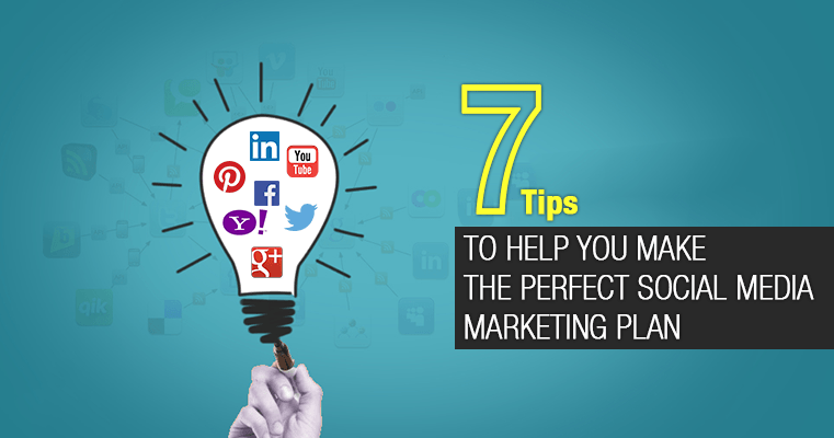 the perfect social media marketing plan