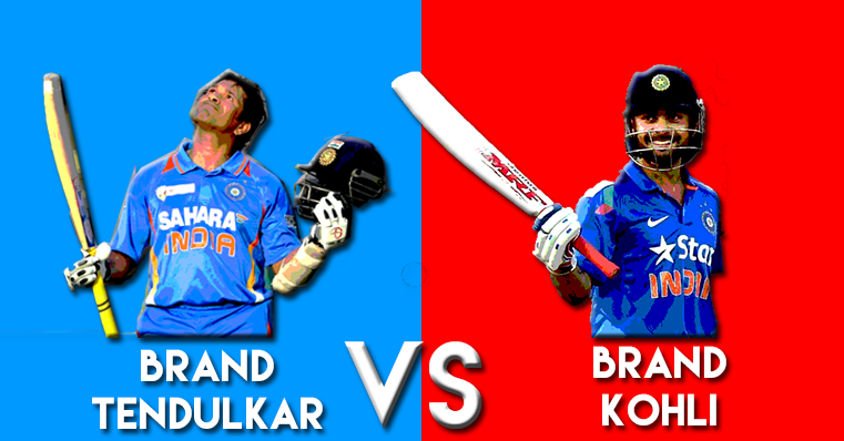is brand kohli the new brand tendulkar