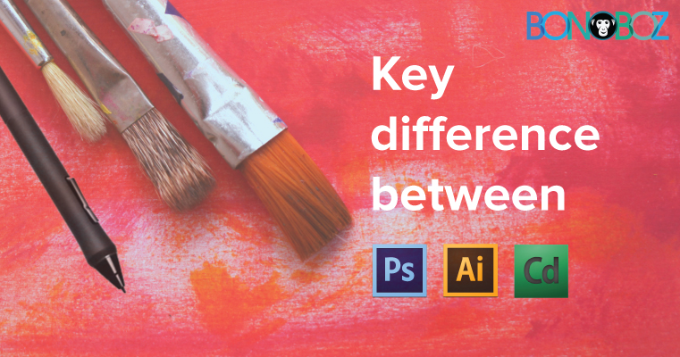 difference between Photoshop Illustrator and Corel Draw