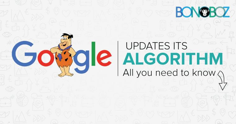 google updates it algorithm