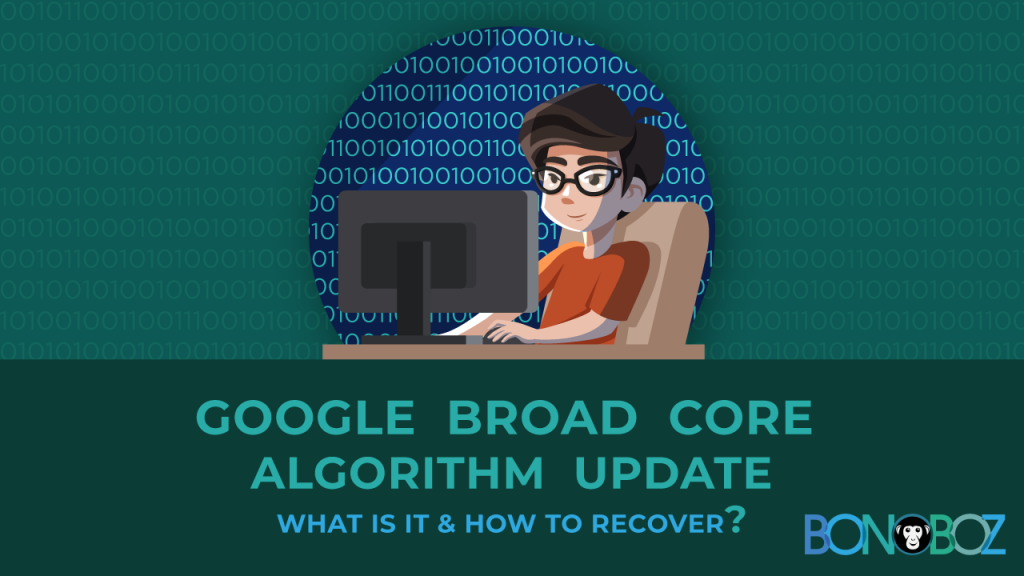 google broad core algorithm update