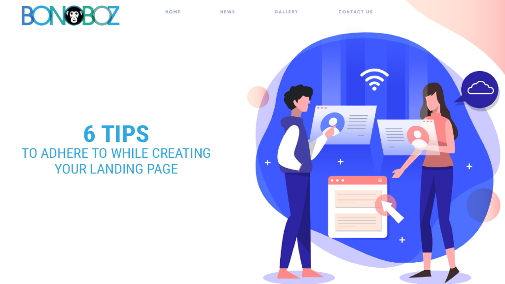creating your landing page
