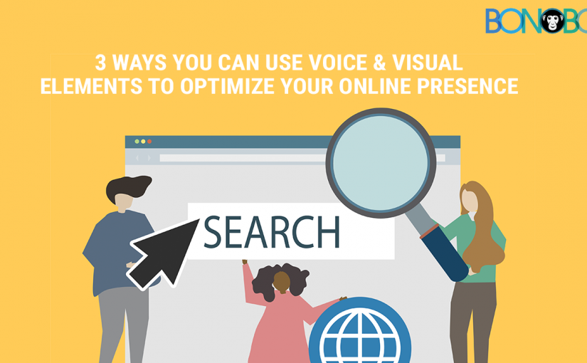 3 Ways You Can Use Voice and Visual Elements to Optimize Your Online Presence